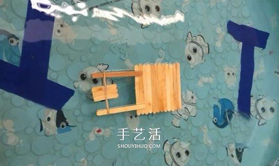 科技小制作:橡皮筋动力船
