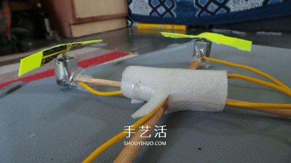 科技小制作:四轴飞行器