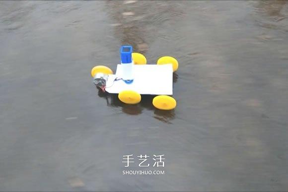 科技小制作:电动马达小汽车