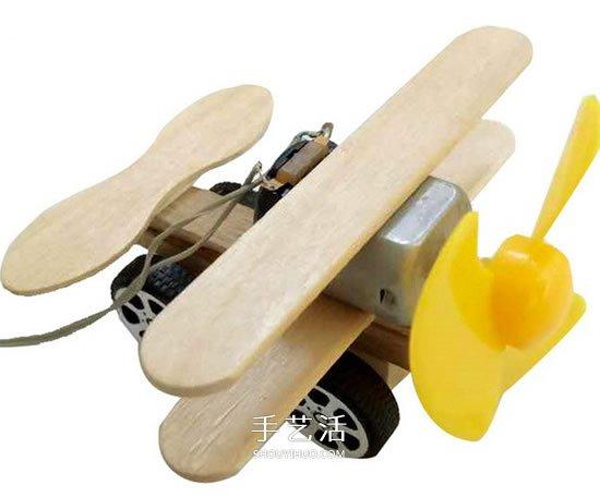 科技小制作:电动马达滑翔机