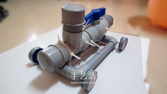 科技小制作:小苏打动力玩具车